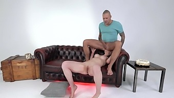 Ass Eating Babe Nataly Gold Wants To Eat His Sticky Juices