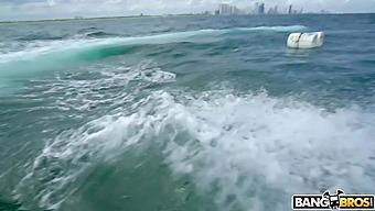 Cuban Hottie Gets Rescued At Sea - Bangbros