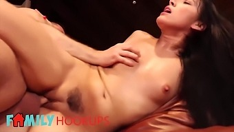 Kimberly Gatess Stepdad Cant Say No To Giving Her Money When She Rubs His Cock