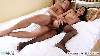 Horny Wife In Stockings Trinity St Clair Loves Anal Sex
