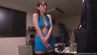 One Of The Things Yui Hatano Loves Is Sucking On A Hard Cock