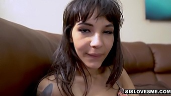 Skinny Stepsister Kitty Carrera Gets A Mouthful Of Cum After Hardcore Pussy Pounding