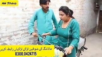 Desi Bike Ride, Woman With A Very Hot Ass