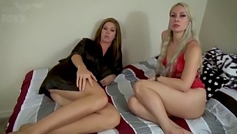 Mom And Aunt'S Special Bedtime Routine, Pov - Milf, Son Fucks Mom, Nephew, Family Sex - Ivy Secret