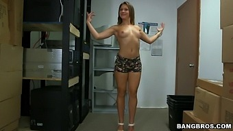 Fit Chick Callie Calypso Opens Her Legs To Be Fucked Balls Deep