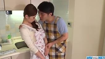 Wife, Rina Koda, Gets Busy With Three Hungry Cocks