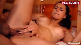 Barbara Bieber Horny Czech Slut Seduced Into Hardcore Pussy Fuck With Rich Roommate
