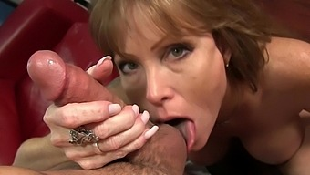 Busty Mature Darla Crane Knows How To Pleasure A Large Manhood