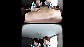 Sakura Haruno & Hikaru Akane In Sakura Haruno & Hikaru Akane Holistic Nipple Liberation Salon ~Special Pair Vr Treatment~ Threesome Ffm - Waapvr