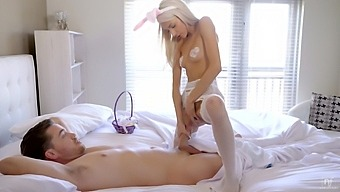 Blonde Hottie Hime Marie Gets Her Pussy Smashed Hard From Behind