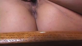 Closeup Video Of Kinky Kyoko Asano Pleasuring Her Puss With Toys