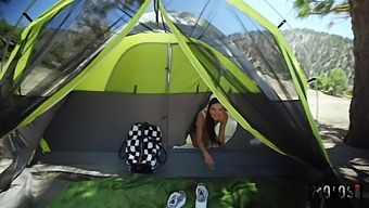 Svelte Camping Girl Vina Sky Is Ready For Pussy Licking Workout