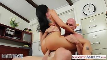 Office Affairs Xxx Video Starring Bosomy Woman Romi Rain And Johnny Sins