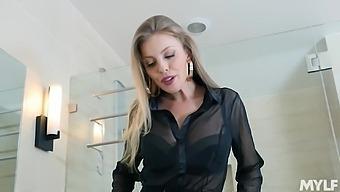Seductive Pornstar Britney Amber In Lingerie Enjoys Riding A Bbc