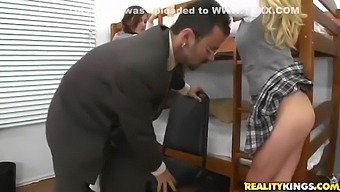 Faye Reagan And Lily Carter In And Spanked