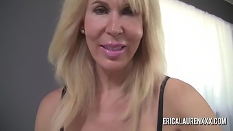 Big Tit Erica Lauren Giving A Sensual Handjob In Pov