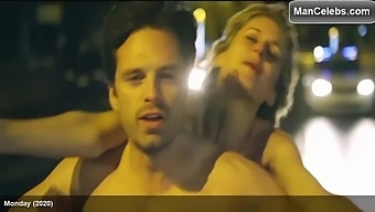 Sebastian Stan Shows Off A Limp Dick
