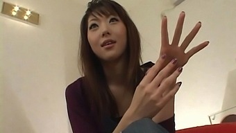 Foxy Japanese Girl Sana Nakajima Enjoys Pleasuring Her Cravings