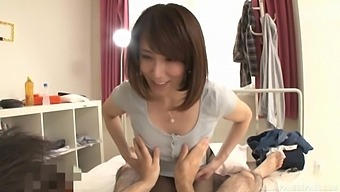 Small Boobs Asian Chick Sawamura Reiko Enjoys Getting Fucked