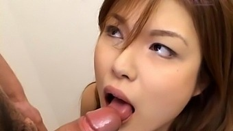 Dude With A Stiff Dick Gets Pleasured By Adorable Yukari Kanou