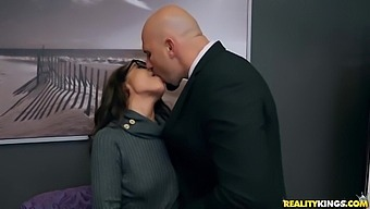 Lana Mars In Rookie With Glasses Gets Fucked In The Office