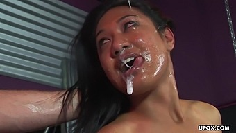 Hot Ayla Lei Is Deepthroating And Having A Real Blast