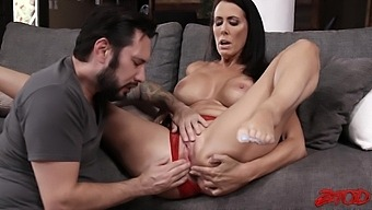 Smooth Fucking With Busty Wife Reagan Foxx Ends With Cum On Boobs