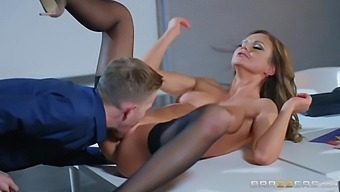 Tina Kay And Danny D In Sexy Secretary Tina Getting Fucked Raw By A Huge Cock After Hours