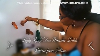 Lady Rae Review For Monster Dildo From Sohimi