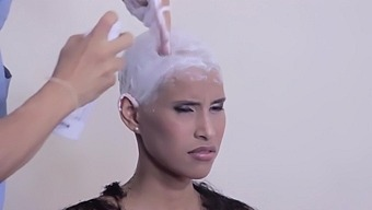 Beauty Shaved Head ***