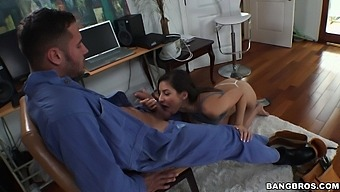 Nina North Trades Cable Package For Pussy - Bangbros