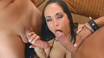 Incredible Mmf Threesome With Busty Pornstar Carmella Bing