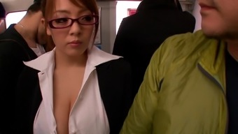 Big Tits Japanese Baby In Eyeglasses Supplying A Tit Position In Government Departments