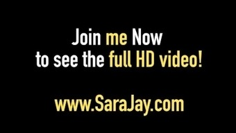 Sizzling Attractive Milf Sara Jay Exhibits First Timer Kyle How You Can Fuck!