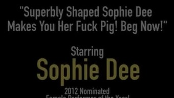 Beautifully Altered Sophie Dee Enables You To Her Fuck Pig! Implore Now!