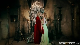 Rebecca Countless And Ella Hughes Like Fucking Located On The Cast Iron Throne