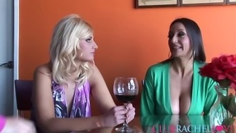 Rachel Completely Love Within The Outstanding Threesome With Two Bombshells