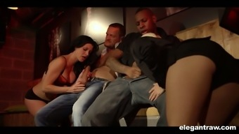 Lana Warm Temperature Gets Nailed Quite Appropriately By Multiple Cops Inside The Remove Club