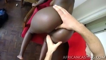 West African Dame Wth Most Innovative Booty Ever Loves Getting Her Charming Buttocks Fucked!
