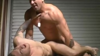 Large Angle Cheerful Anal Sex And Cumshot