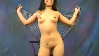 Pretty Far Eastern Hobo Miki Chan Does A Number Of Erotic, Bare Dancing