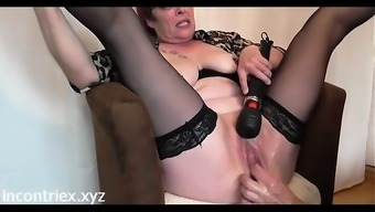 Grow Older Fisting Squirting Orgasm