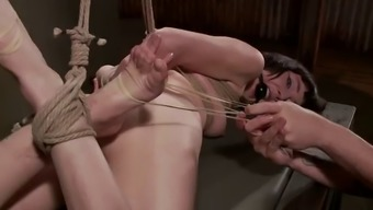 Sadist Puts Candle In Intercourse Slave'S Booty