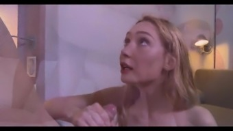 The French Language Blond Does Anal The First Time