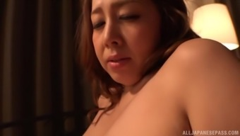 Chubby Kazama Yumi Cannot Hold On To Effectively Think A Man'S Hard On