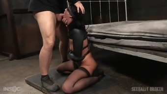 Blindfolded Gal Has Grown To Be Just A Prisoner Of One'S Two Different Naughty Such Offenders