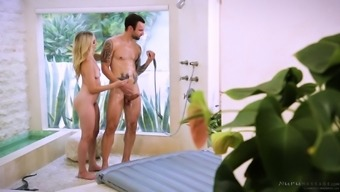 Riley Reyes Displays Her Sexual Capabilities To The Tattooed Adult Man