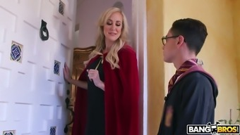Viciously Horny Milf Brandi Like Wants To Fuck This Wizard