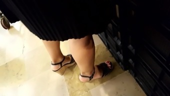 Candid Senior Fr'S Warm Legs At Once, Horny Red Colored Toes Programs