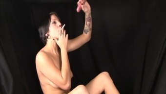 Emo Freak Youngster Gloryhole Cock